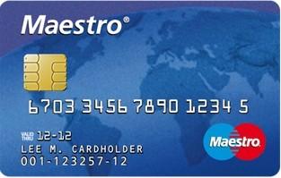 Maestro Card Nummer